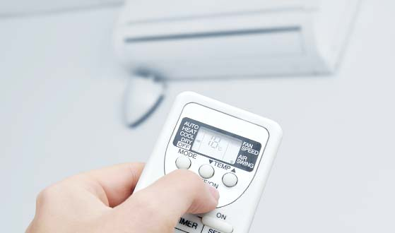 Electronic control for domestic Air Conditioning Unit